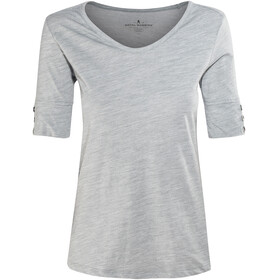 Royal Robbins Merinolux V-Neck Tee Women Light Pewter
